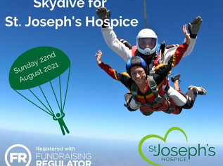 Hospice launches skydive event