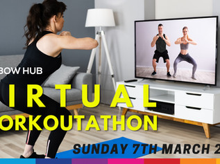 Rainbow Hub Workout-Athon goes virtual