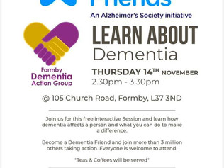Woodlands Lodge to hold a free Dementia Session