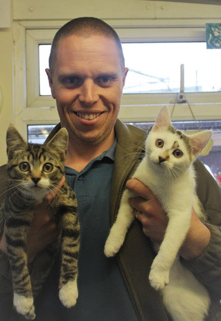 Happy Ending for Abandoned Kittens