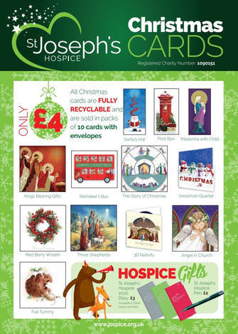 Hospice Christmas cards now on sale
