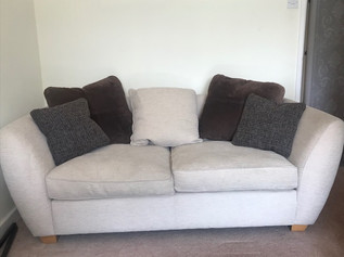 For Sale - Couch and Footstool