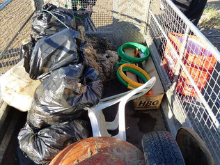 Cabin Hill NNR, Formby gets a clean up as local volunteers help turn the tide on litter