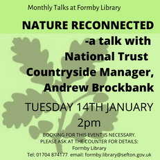 January Talk at Formby Library
