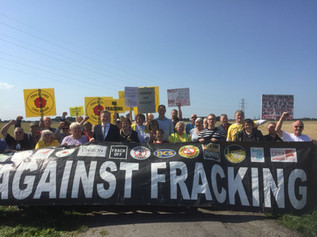 "Fracking is ""the opposite of what we need"", says MP in fight against plans to frack near F"