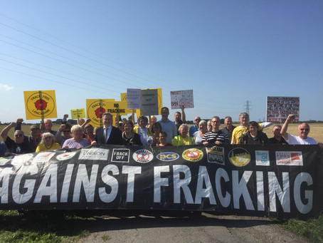 """Fracking is """"the opposite of what we need"""", says MP in fight against plans to frack near F"""