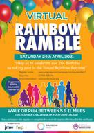 Rainbow Hub's 20th Birthday Celebration Virtual Ramble to raise funds