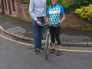 Formby cyclist takes on 300 mile ride in memory of murdered MP Jo Cox