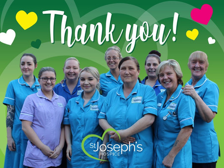 St Joseph's Hospice says thank you to 200 volunteers