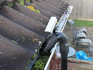 Gutter cleaning in Formby