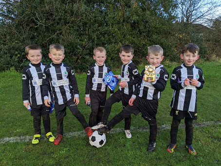 FRANK ROURKE'S REPORT FROM FORMBY JUNIOR SPORTS CLUB