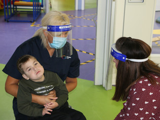 Formby family's delight as charity supporting children with disabilities opens its doors for fir