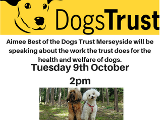 Monthly talks at Formby Library with Dogs Trust