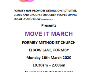 Move it March comes to The Formby Hub