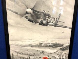 AHCG Woodlands Lodge - Art Exhibition of WW1 & WW2 Military Artwork