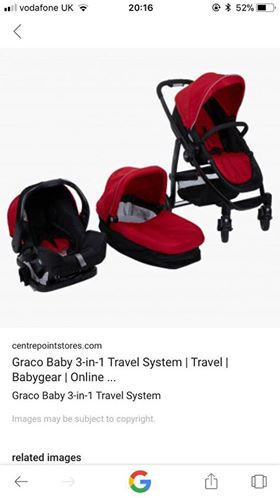 Brand new 3 in 1 travel system