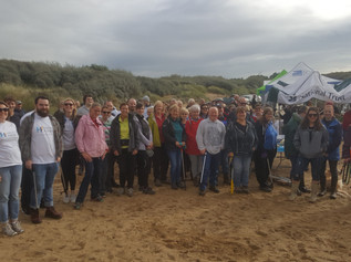 Volunteers come together to help keep our beaches clean