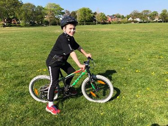 Local boy to ride 20km to help the homeless