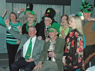 Formby Rotary celebrate St Patrick's day