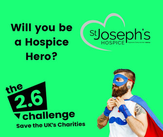 Hospice joins 2.6 Challenge THIS Sunday