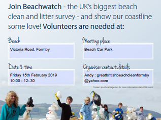 Victoria Road Beach will be receiving a thorough clean on Friday 15th of February, can you help?