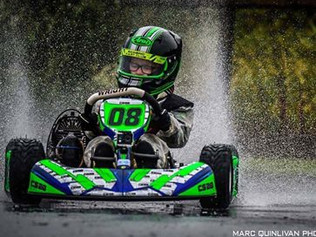 Formby School boy Connor crowned 2018 Bambino Karting champion