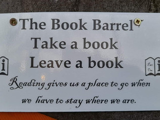 The book barrel continues in Formby