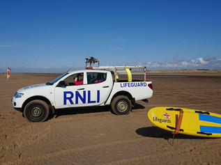 RNLI offer advice as peak lifeguard season finishes in Formby
