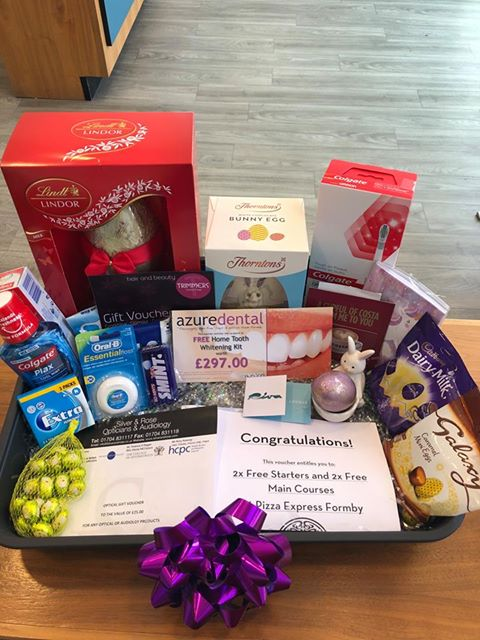 Fantastic Prizes To Be Won At Azure Dental In Aid Of Zoes