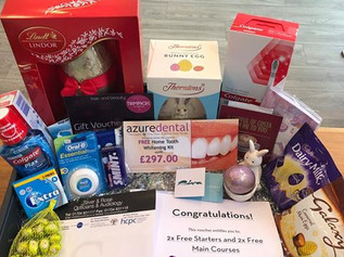 Fantastic Prizes to be won at Azure Dental in aid of Zoe's Place Baby Hospice