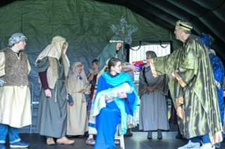 Two performances of the Formby Nativity this Saturday at Formby Pool Gardens