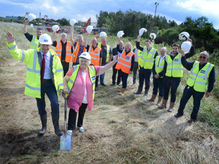 Ground broken on new Lifeboat Station