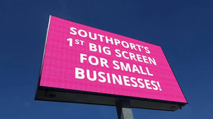 Formby & Southport Businesses Finally Get Affordable Big Screen Ad Platform