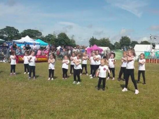 Children from Ashleigh Dance Academy performed amazingly well at Formby festival recently