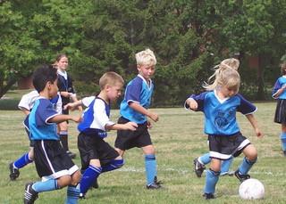 Football fun at FJSC