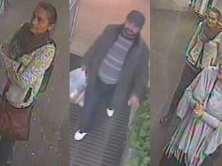 Do you recognise these people who may have information regarding the theft of an elderly woman's