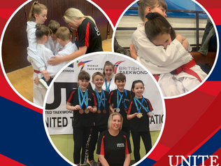 More Medals for UNITE Formby Poomsae Team