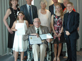 Formby Rotary honours founder member