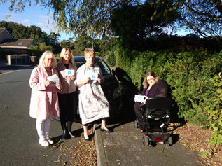 Campaigners fight 'dangerous' pavement parking in Formby