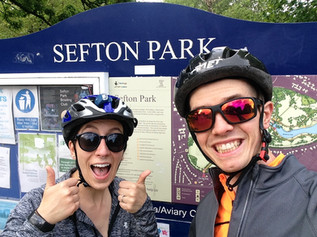 Cycling duo attempt Covid 'Coast to Coast' tandem challenge