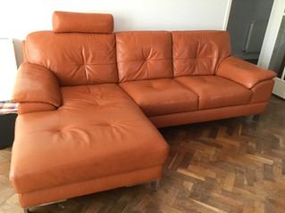 For Sale - Leather Sofa