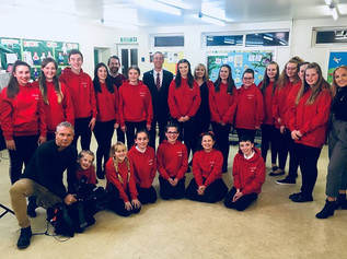 Formby Choir sing on Granada Reports news and are now heading to Disneyland