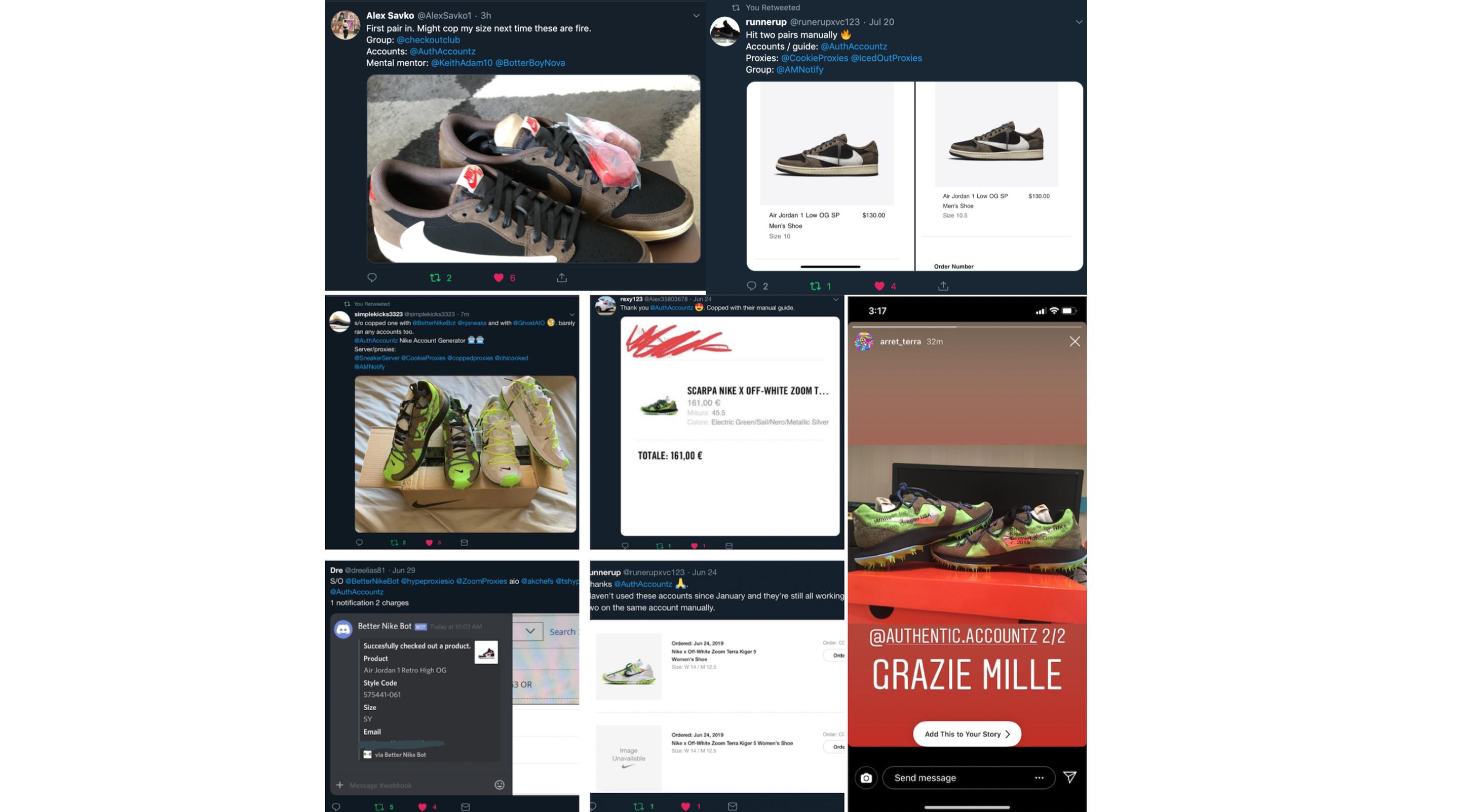 Verified Nike/SNKRS Accounts | Lifetime