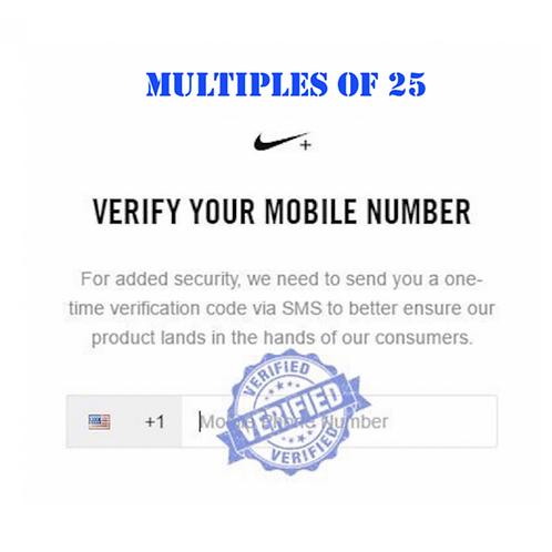 Verified Nike+/SNKRS Accounts
