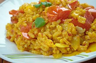 Zafrani Pulao - Fragrant basmati rice ma