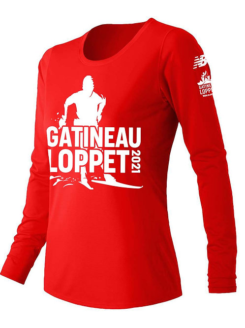 GL Long Sleeve Shirt - Women (Red)