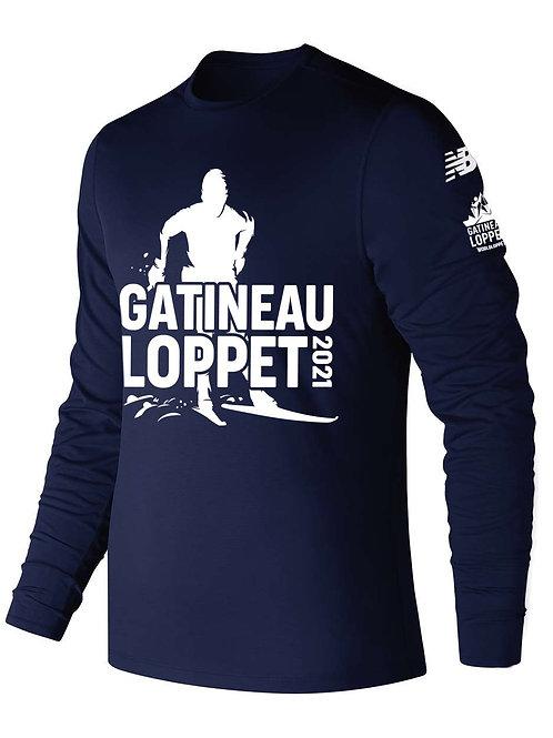 GL Long Sleeve Shirt - Men (Navy)