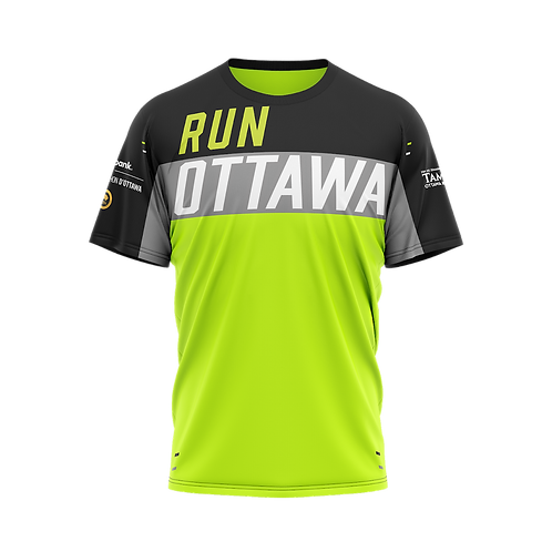 Ottawa Short Sleeve Shirt - Men + Women (Black/Neon)