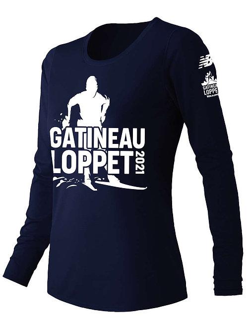 GL Long Sleeve Shirt - Women (Navy)