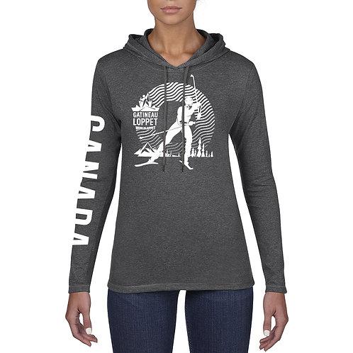 GL Hooded Long Sleeve Shirt - Unisex (Grey)